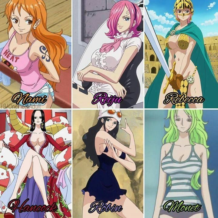 Naked pictures of the girls from one piece