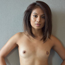 Flat chested girls topless